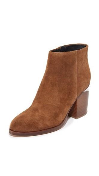 suede booties dark booties suede shoes