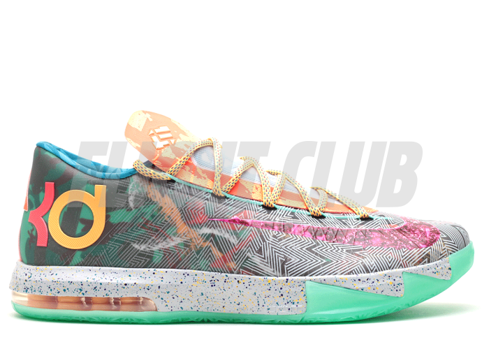 "kd 6 ""what the kd"" - multi/multi  