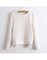 Zipper sweater pullover solid thicken embossed printing casual