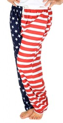 American Flag Pajama Pants - Adult Lounge Pants