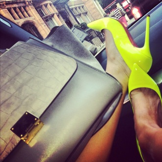 shoes giuseppe zanotti high heels jimmy choo moschino chanel christian louboutin saint laurent pointed toe neon neon shoes red bottoms red bottom heels wow pumps