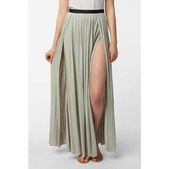 skirt grey skirt urban outfitters