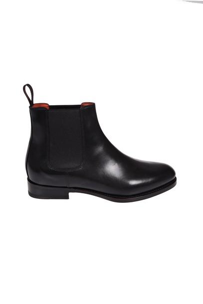 Santoni ankle boots shoes