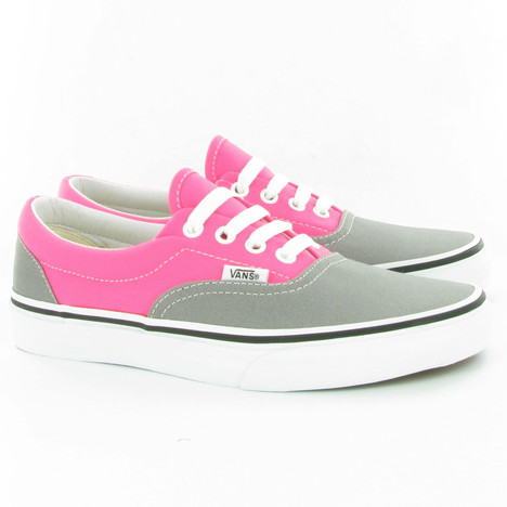 Vans Era Two Tone Pumps in Pink Grey