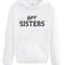 Bff sisters girls and mens hoodies christmas t shirt tshirt