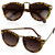 Cheetah Print Owl Eyed Sunglasses