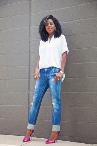 blogger jeans shoes straight jeans