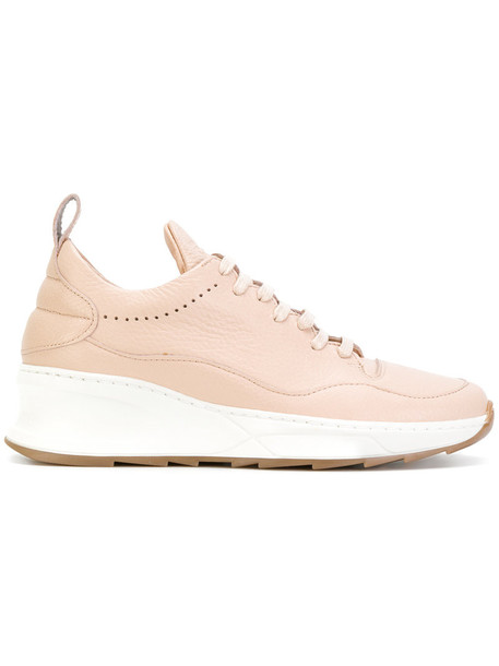 Filling Pieces women shark sneakers leather nude shoes
