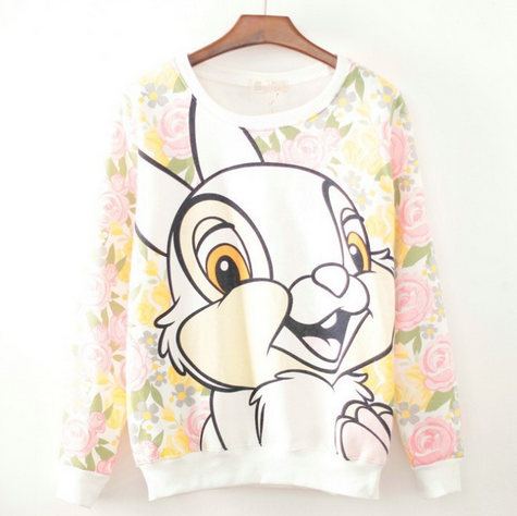 Rabbit hoodies