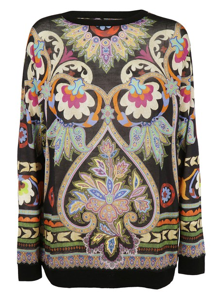 ETRO sweater patterned sweater floral