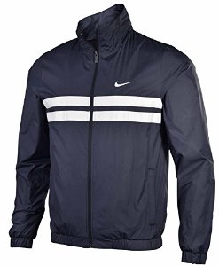 Amazon.com: Nike Men's Advantage Wind Track Jacket-Black/White: Sports & Outdoors