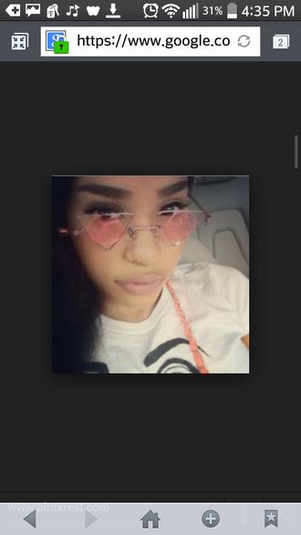 sunglasses pink sunglasses itsmyrayeraye rayeraye
