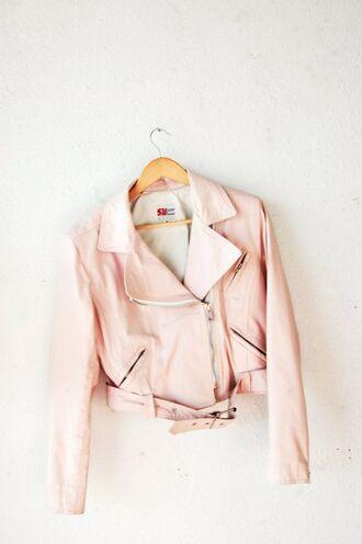 jacket pink pastel pink jacket spring jacket