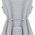 Black Sleeveless Striped Ruffle Top - Sheinside.com