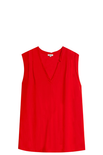 shirt red top