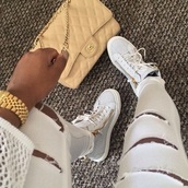 shoes,white,zip,sneakers,sneakers white,jeans