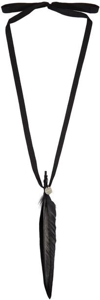 ANN DEMEULEMEESTER necklace black jewels