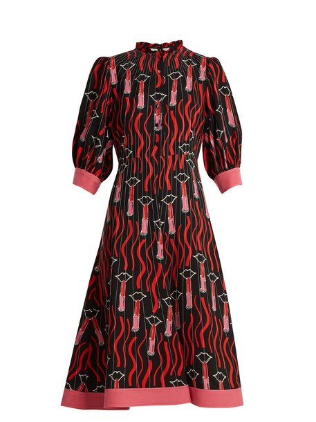 Valentino dress print black