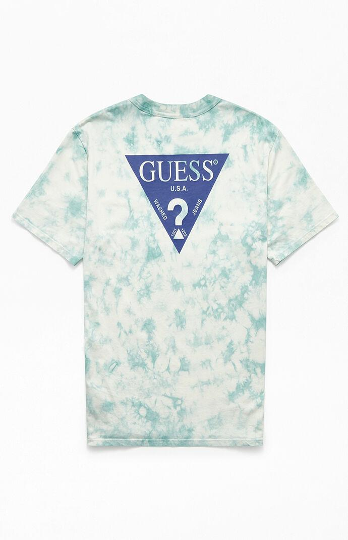 Tie-Dyed Oversized Logo T-Shirt