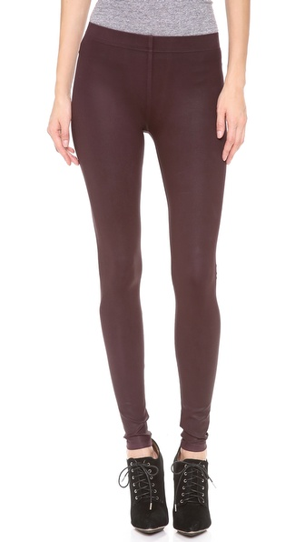 David Lerner The Classic Coated Leggings | SHOPBOP