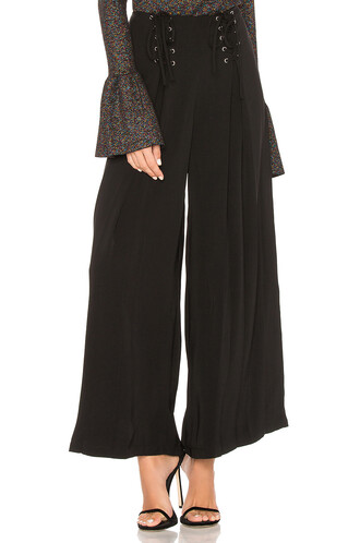 pants palazzo pants black
