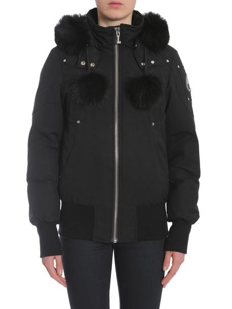 Moose Knuckles jacket bomber jacket