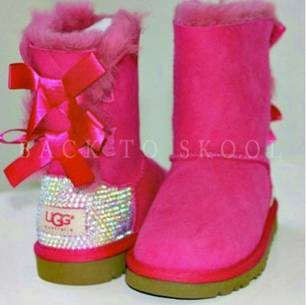 Bling ugg boots by backtoskool on etsy