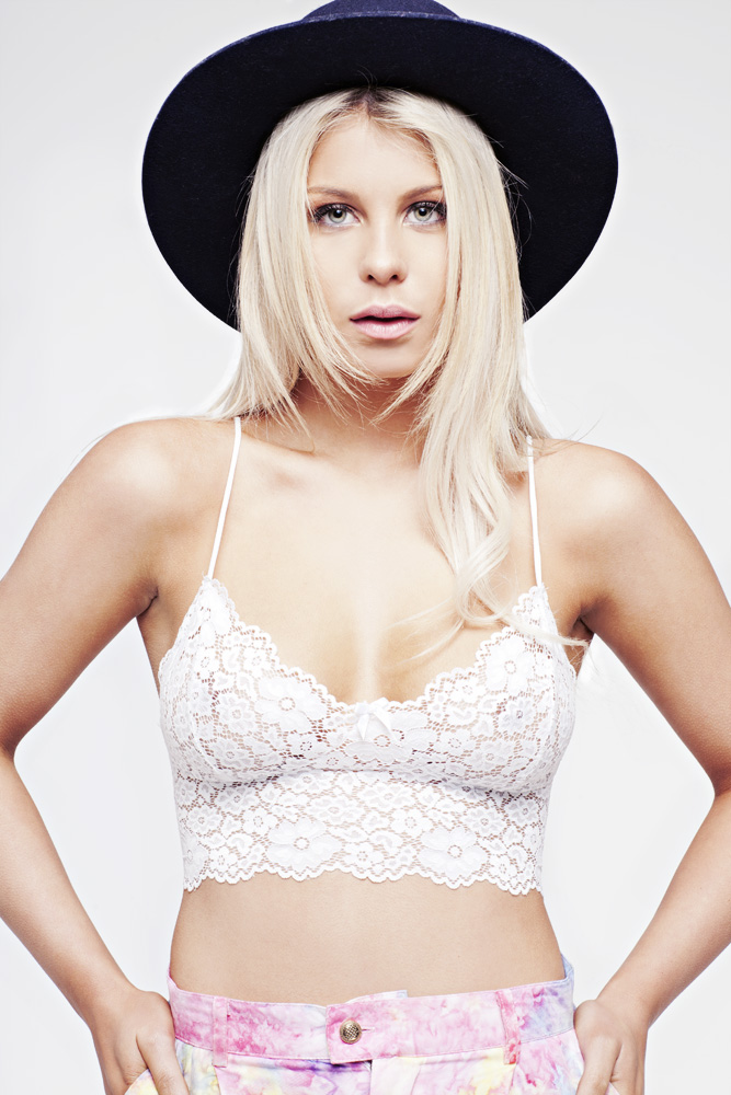 Love Street Bralet White
