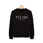 Feline Meow Sweater £16   Free UK Delivery   10% OFF