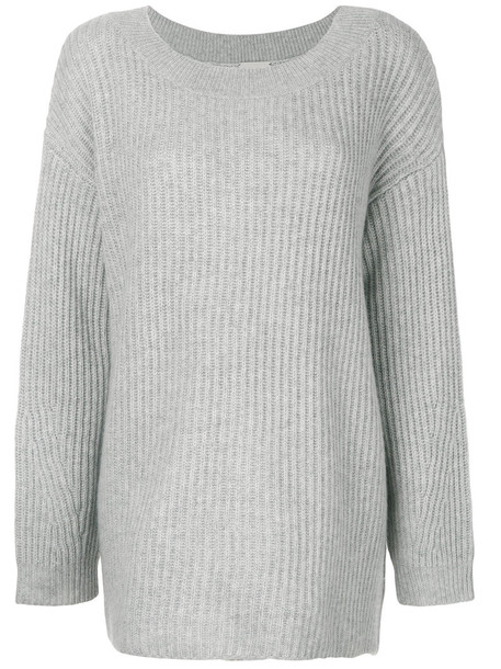 Le Kasha sweater women grey