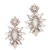 Deepa Gurnani Deepa By Deepa Gurnani Wiley Earrings - Silver/Pink