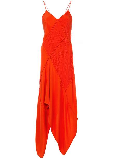 KITX dress women cotton silk red