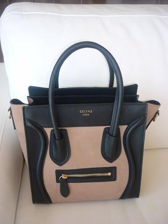 bag celine paris bag black brown beige celine bag