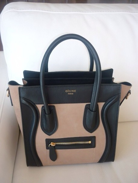 bag celine paris bag black brown beige celine bag