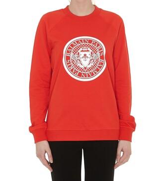 sweatshirt red sweater