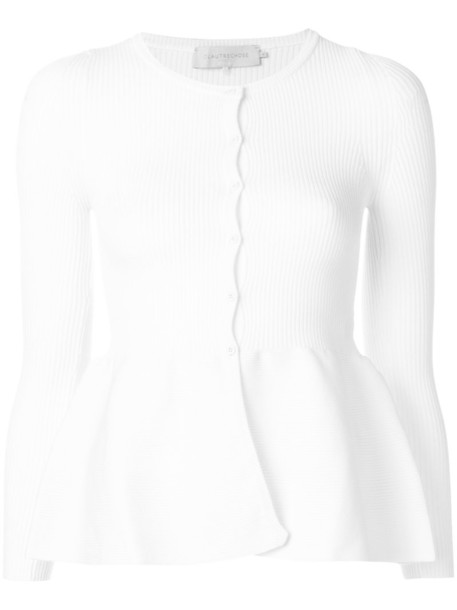 L'Autre Chose cardigan cardigan women white sweater