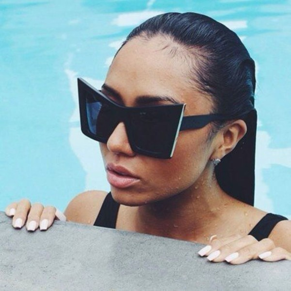 sunglasses matte cat eye pointy cat eye square cat eye cat eye tumblr girl tumblr sunglasses cat eye