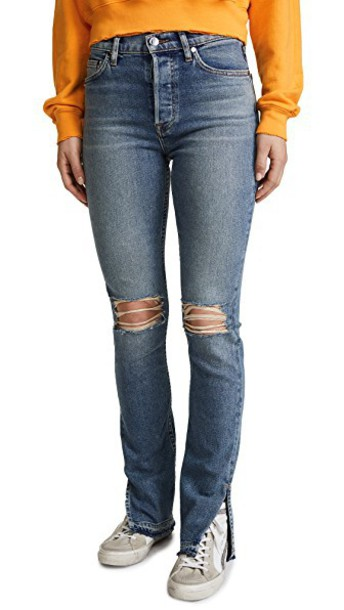 Cotton Citizen jeans skinny jeans high grunge light