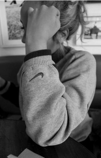 sweater nike nike clothing nike sweatshirt grey nike sweater