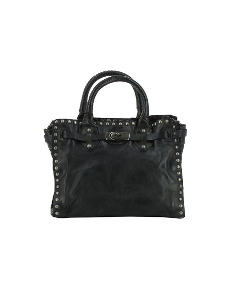 Giorgio Brato leather grey bag