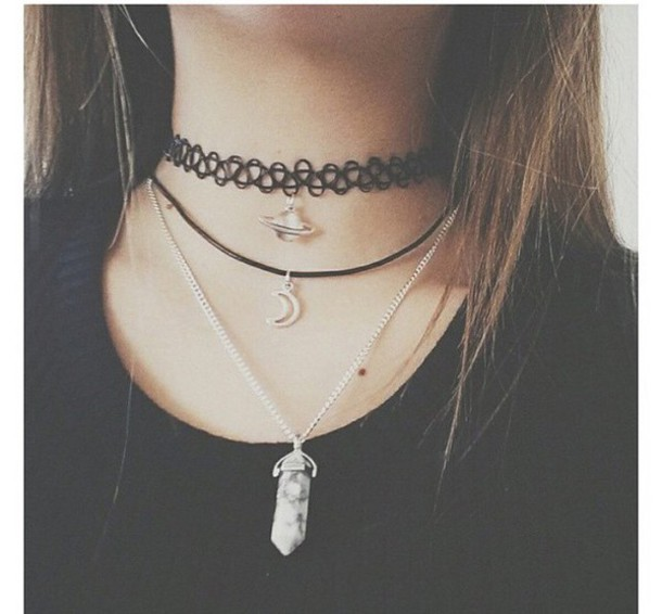 jewels choker necklace cool necklace