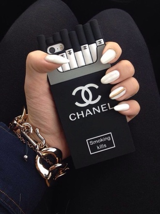 phone case chanel t-shirt casual iphone 5 case vintage boots style yolo hipster bikini fashion smoke