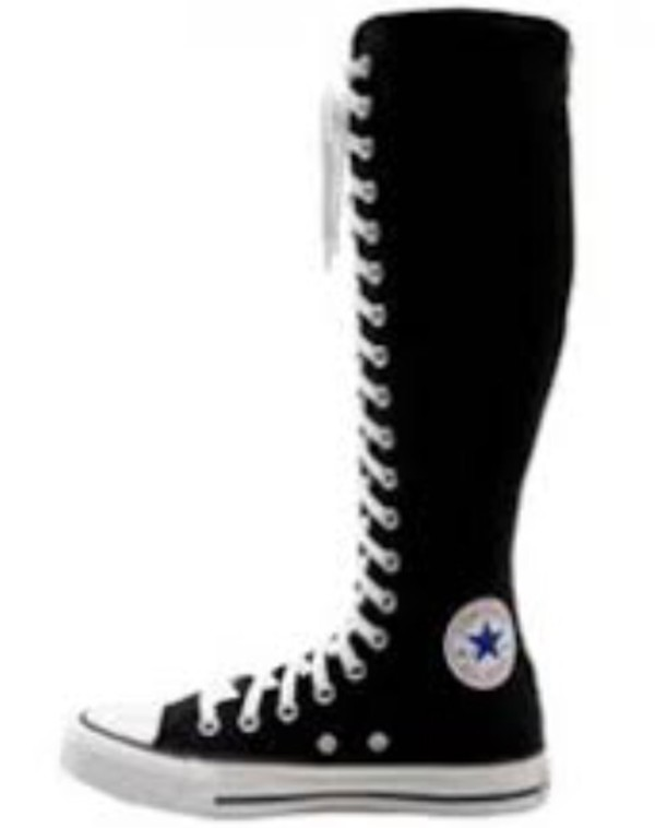 Converse CT All Star XXHI Knee High Tennis Shoe Boot-Dark Navy W 9 ...