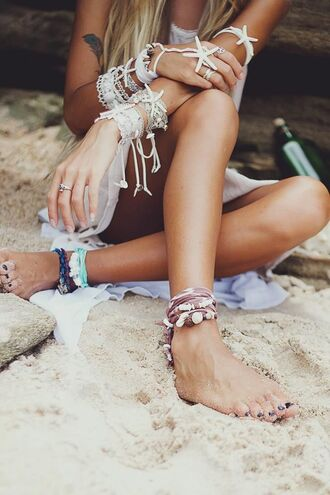 jewels jewelry summer holidays beach shell sea creatures