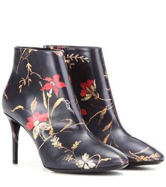 leather ankle boots boots ankle boots leather black shoes