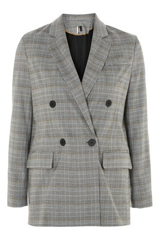 jacket double breasted grey