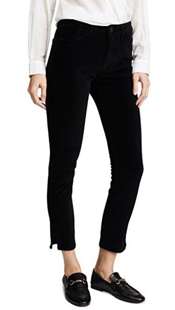 3x1 jeans velvet black