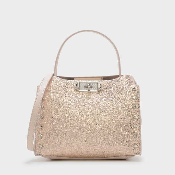 handbag gold bag