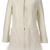 ROMWE | Panel Faux Furry White Coat, The Latest Street Fashion