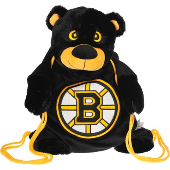 bag backpack boston bruins bear